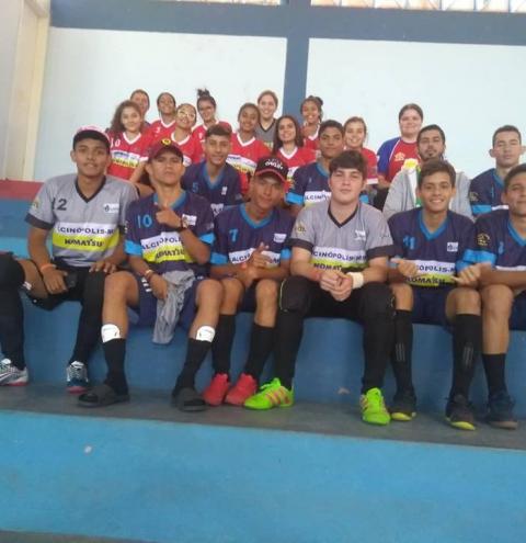 As Duas equipes de Alcinópolis avançam de fase no JOJUMS 2018 de Futsal