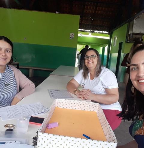Alcinópolis realiza mais um encontro de formação de professores referente ao Processo de Implementação da BNCC e o Currículo de Mato Grosso do Sul.