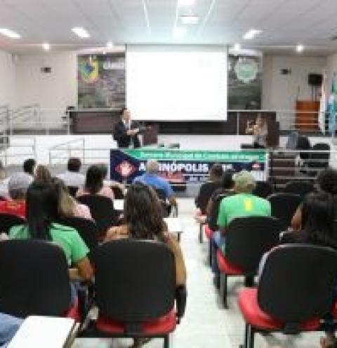 Alcinópolis inicia Semana Antidrogas