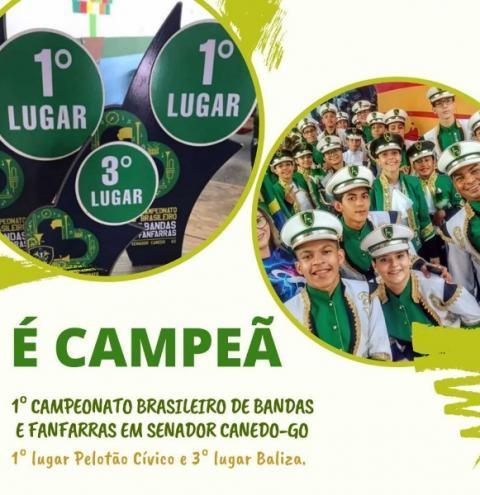 Banda Iulle Martins Rezende de Alcinópolis vence 1º Campeonato Brasileiro de Bandas e Fanfarras