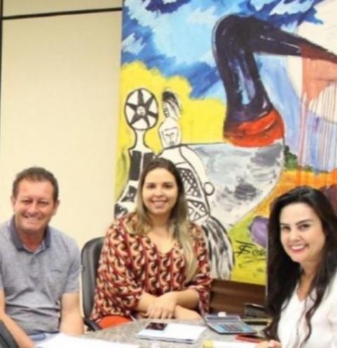 Prefeito Dalmy busca apoio do Governo para realizar festividades do 28º aniversário de Alcinópolis