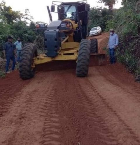 Em parceria, Alcinópolis e Costa Rica recuperam estradas importantes da região norte